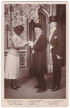 "Gertie Millar. George Grossmith Jr ""A Waltz Dream"" Rotary 7422 B"