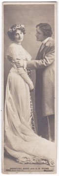 Dorothea Baird and H B Irving. Rotary 9003 bookmark