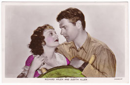 Richard Arlen and Judith Allen. Film Partners PC 137