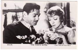 "Clark Gable and Helen Hayes ""The White Sister"""