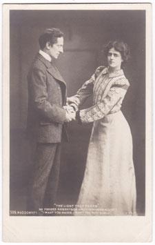 "Gertrude Elliott. Forbes Robertson ""The Light That Failed"" Beagles 509"