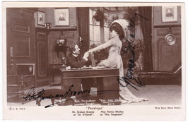 """Graham Browne and Norma Whalley """"Penelope"""" E B 139.5. Signed postcard"""