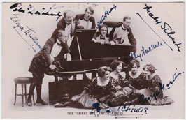 The Smart Set Entertainers. Light opera. Signed postcard