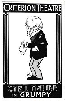Grumpy. Cyril Maude. Criterion Theatre. David Allen & Sons