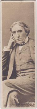 Henry Irving. Rotary bookmark