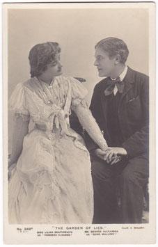 "George Alexander. Lilian Braithwaite ""The Garden Of Lies"" Beagles 349 A"