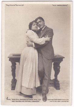 "George Alexander and Eva Moore ""Old Heidelberg"" Tucks Series 13"