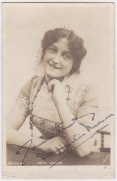 Delia Mason. Rotary 1593. Signed postcard