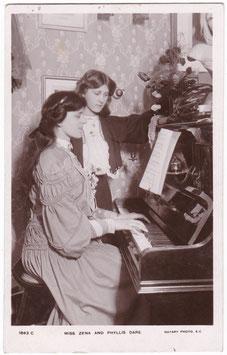 Zena and Phyllis Dare. Rotary 1843 C