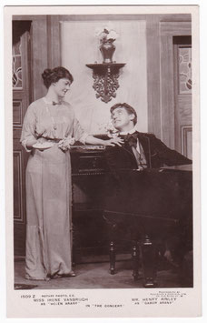 "Irene Vanbrugh and Henry Ainley ""The Concert"" Rotary 1509 Z"