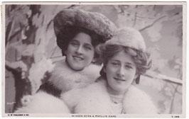 Zena and Phyllis Dare. Faulkner S 288