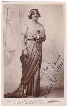 "Alice Charteris ""Sealed Orders"" Rotary 6919 B. Signed postcard"
