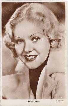 Alice Faye. Milton 126