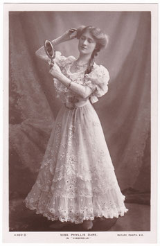 Phyllis Dare as Cinderella. Rotary 4369 D