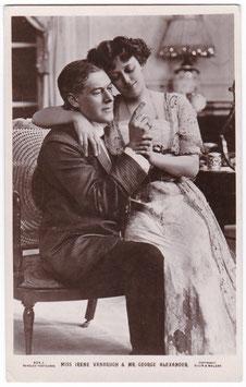 """George Alexander, Irene Vanbrugh """"His House In Order"""" Beagles 824 J"""