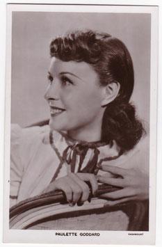 Paulette Goddard. Picturegoer 1081b
