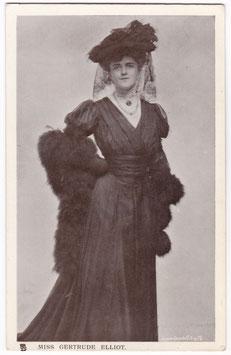 Gertrude Elliott. Tucks 5730