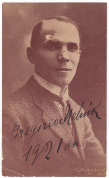 Gregorio Melnik. Signed photo