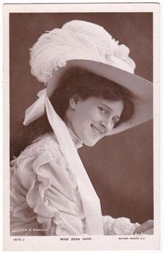 Zena Dare. Rotary 1876 J