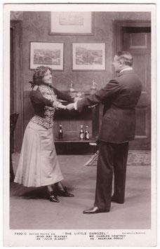 "May Blayney and Charles Hawtrey ""The Little Damozel"" 7492 C"