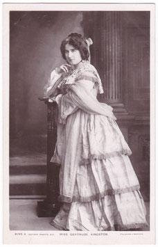 Gertrude Kingston. Rotary 4195 A