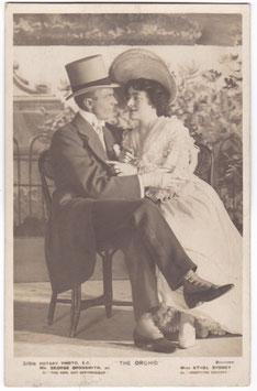 "George Grossmith Jr. Ethel Sydney ""The Orchid"" Rotary 3191 B"