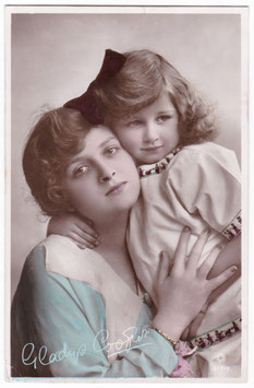 Gladys Cooper and daughter. Rotary B 17-1