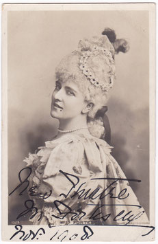 May Fortescue. Performed in D'Oyly Carte Opera. Rotary 1523. Signed postcard