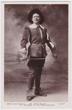 "Lewis Waller in 'The Three Musketeers"" Rotary 2383 O"