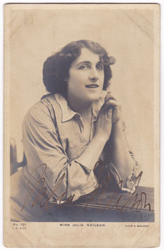 Julia Neilson. Beagles 131. Signed postcard
