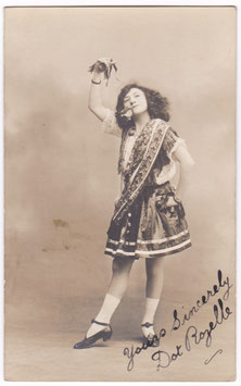 Dot Rozelle. Signed postcard