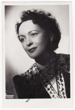 Sophie Stewart. Signed photograph