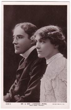 Laurence Irving and Mabel Hackney. Rotary 1239 C