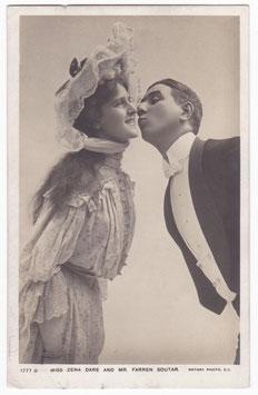 """Zena Dare and Farren Soutar """"Sergeant Brue"""" Rotary 1777 B"""