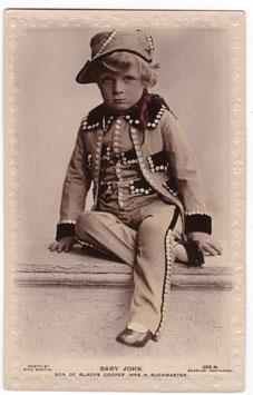 Baby John. Son of Gladys Cooper. Beagles 302 M