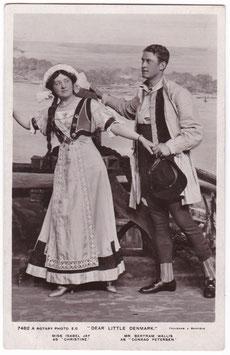 "Isabel Jay and Bertram Wallis ""Dear Little Denmark"" Rotary 7482 A"