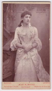 Mary Moore. Barraud cdv
