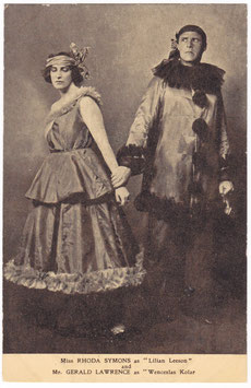 """Rhoda Symons and Gerald Lawrence """"The Great Day"""" Drury Lane"""
