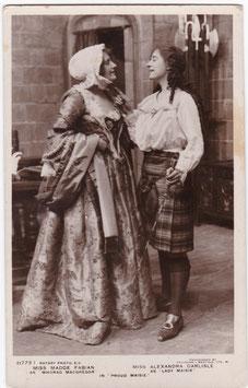 "Madge Fabian and Alexander Carlisle ""Proud Maisie"" Rotary 11773 I"