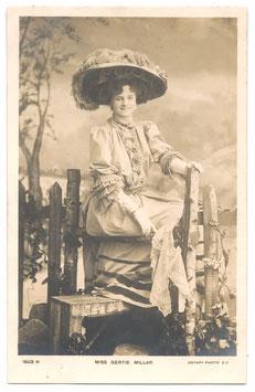 Gertie Millar. Rotary 1603 H