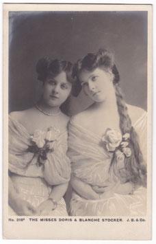 Doris and Blanche Stocker. Beagles 216 A