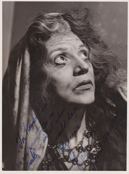 Jean Watson. Contralto. Signed photograph