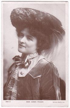 Agnes Fraser. Rotary 1901 A