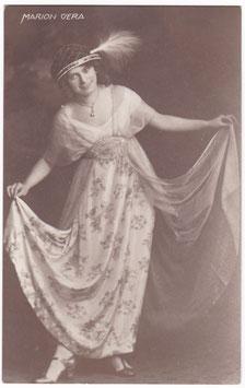 Marion Vera. Vienna 1913. Signed postcard