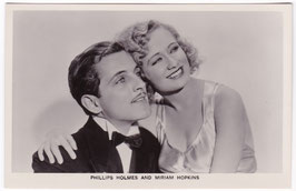 Phillips Holmes and Miriam Hopkins. Film Partners P 38