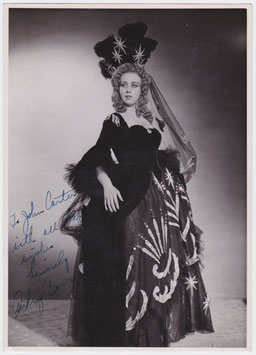 Audrey Bowman. Soprano. Signed photograph