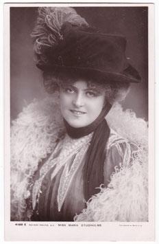 Marie Studholme. Rotary 4188 E