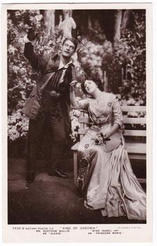 """Bertram Wallis. Isabel Jay """"The King Of Cadonia"""" Rotary 7439 B"""