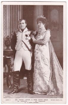 "Frank Lister and Edith Cole ""A Royal Divorce"" Rotary 1295 A"