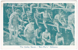 """Ben Hur"" The Galley Slaves"